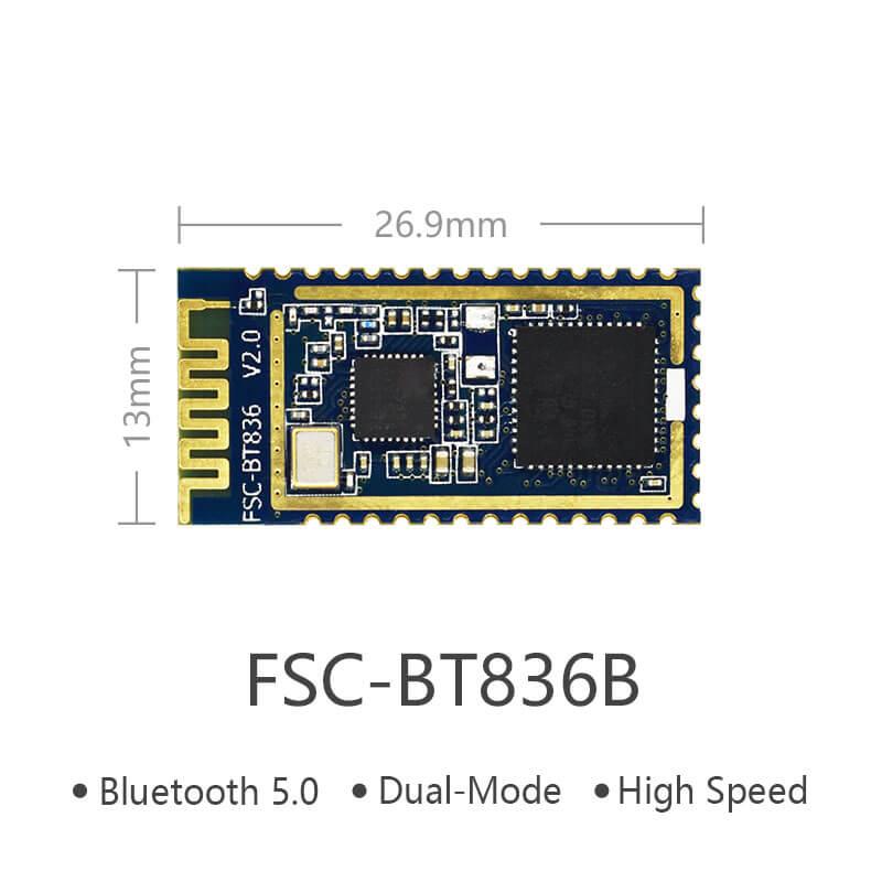 Realtek FSC-BT836B | Bluetooth 5 Dual-Mode Module High-Speed Solution