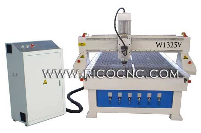 MDF Board Cutting Machine With CNC Vacuum Table Wood CNC Router Machine W1325V