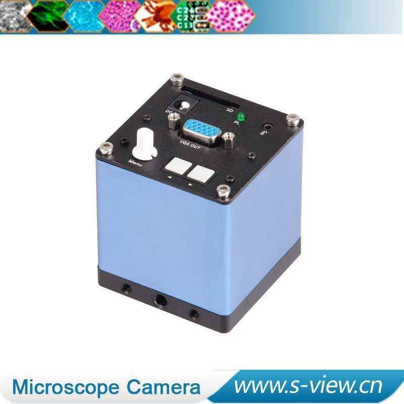 New design VGA video camera micrscope camera