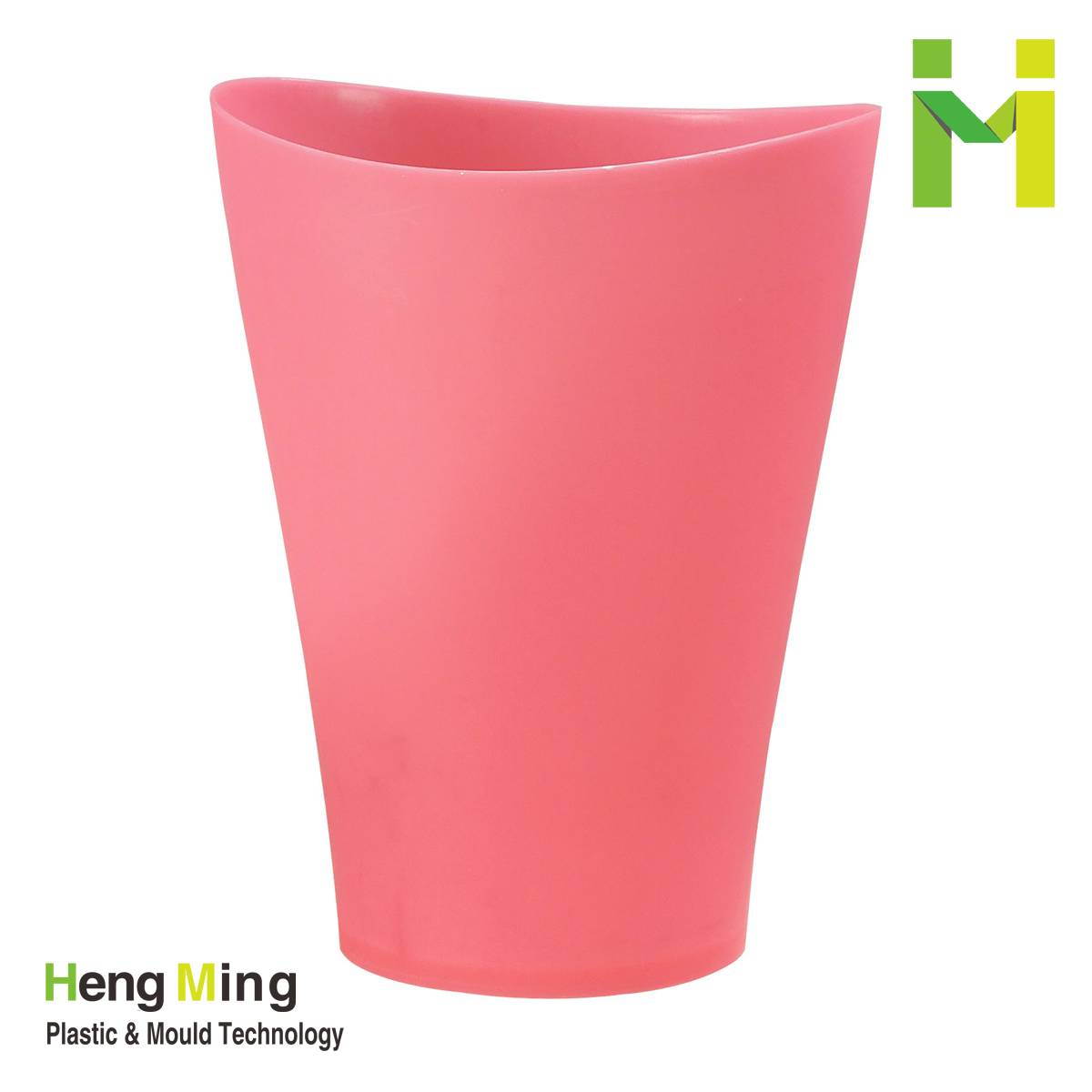 8L indoor plastic dustbin