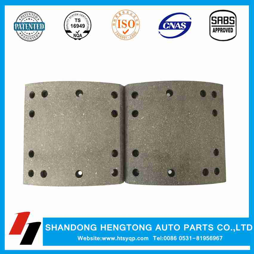 China heavy truck brake lining