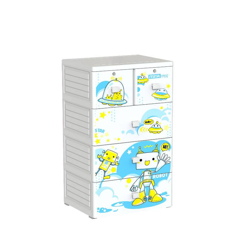 Plastic Children cabinet closet drawer for bedroom-Duy Tan Platics Vietnam