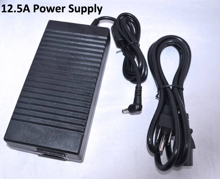 AC 100-240V To DC 12V 12.5A 150W Power Supply Converter Adapter for Led Strips Lights