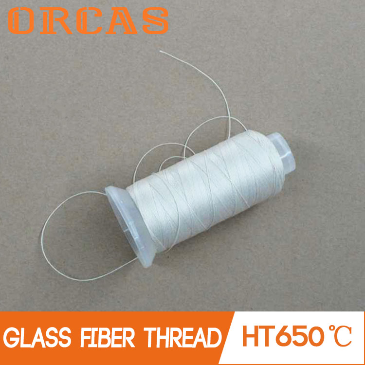 High temperature insulation fireproof sewing thread glass fiber yarn