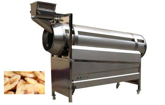 High efficiency stainless steel single-drum flavoring machine on sell.