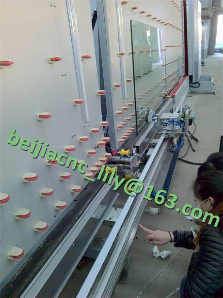 FJX 2500 Automatic two component silicone glue coating machine for IG producing line