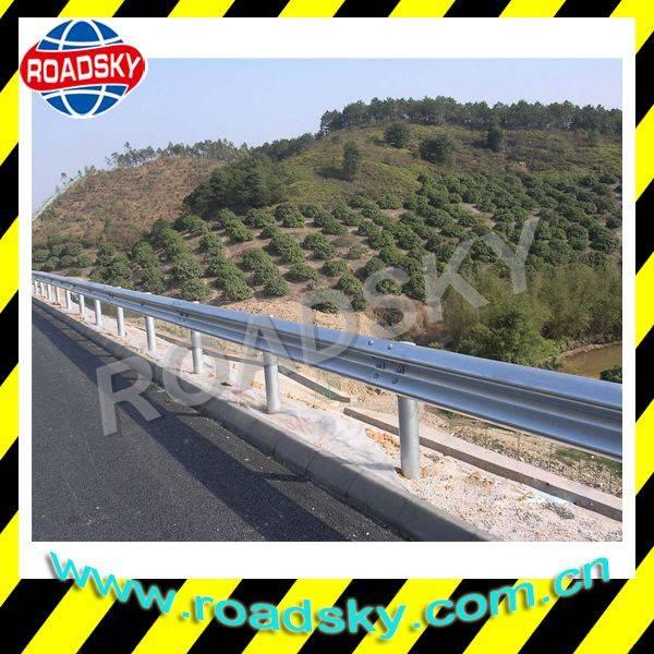 AASHTO M180 Corrugated Metal Beam Highway Guard Rail