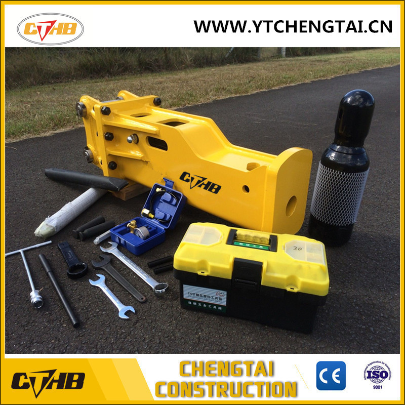 SOOSAN With CE certificate 150mm chisel hydraulic breaker CTHB150 for mining machinery and equipment