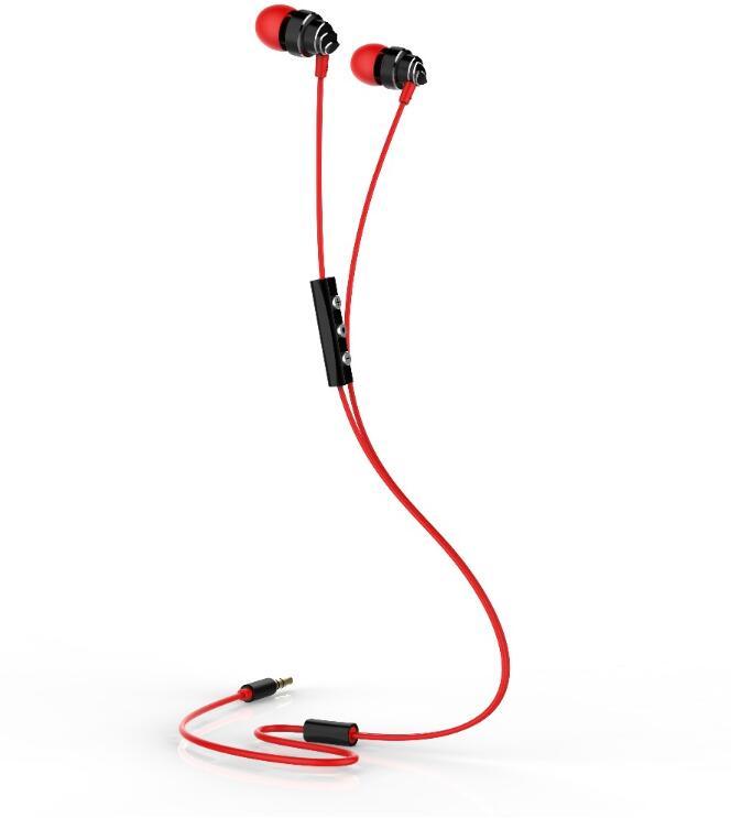High Quality Wired Earphone with Metal earhouse,handsfree earphone.