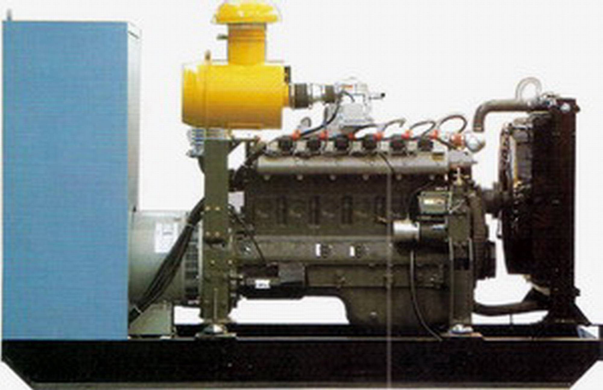 GAS diesel generator with stamford with welcomed