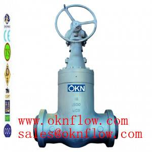 3 A217-C5/WC6/WC9 butt welded gate valve