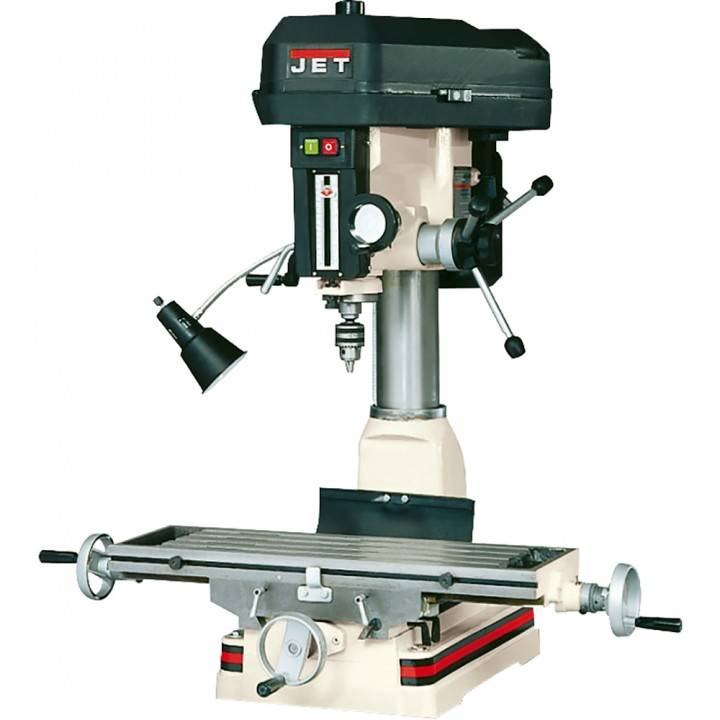 JET JMD-15 Mill/Drill With R-8 Taper