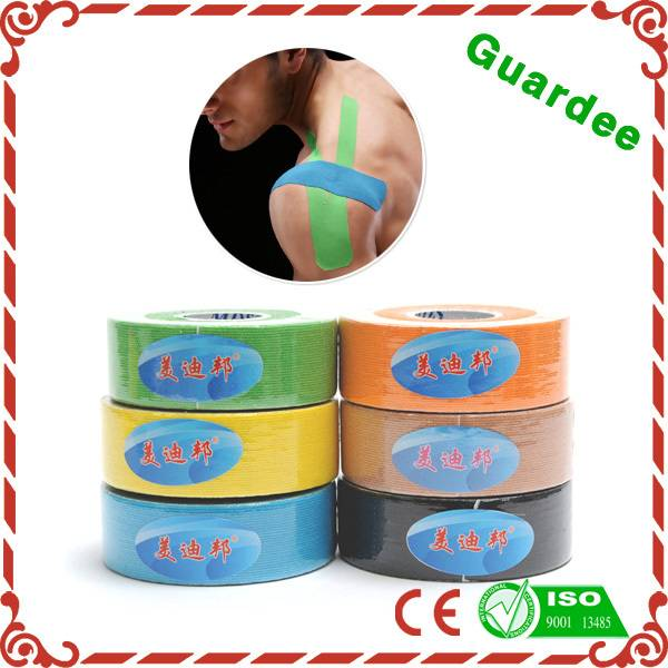 Colored Pre-Cut Sport Kinesiology Tape