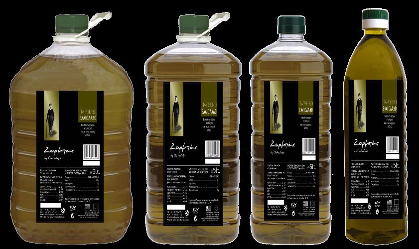 """:Zorbas"""" Virgin Olive Oil"""