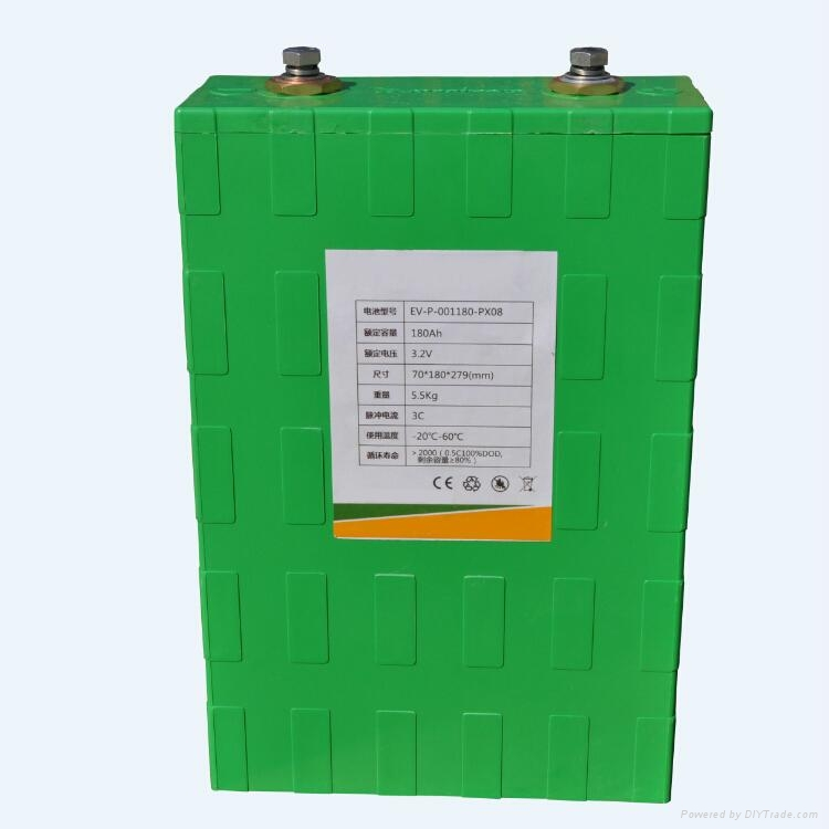 3.2V 180AH Big Capcity Lithium Iron Battery For PV Power Station