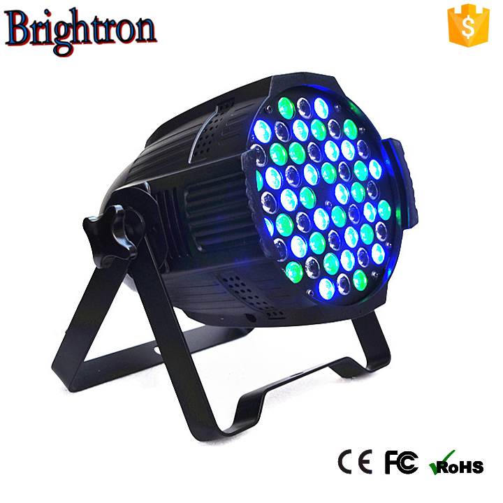 2017 China manufacturer 543w RGBW wash effect led par can stage light