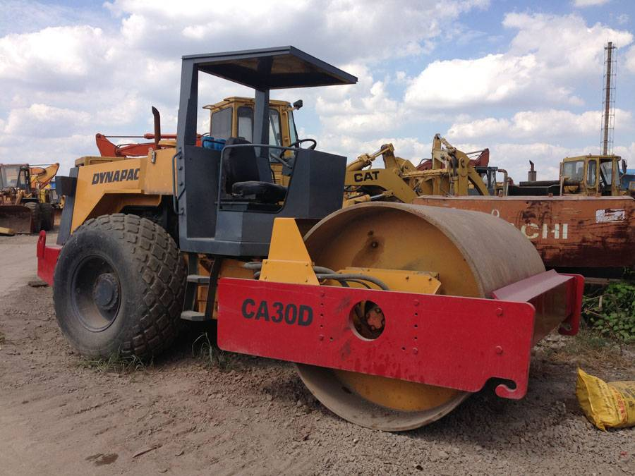 18 ton roller, used dynapac ca30 compactor