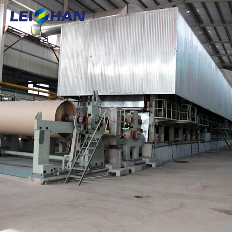Leizhan 20-750tpd kraft paper making machine for paper mill