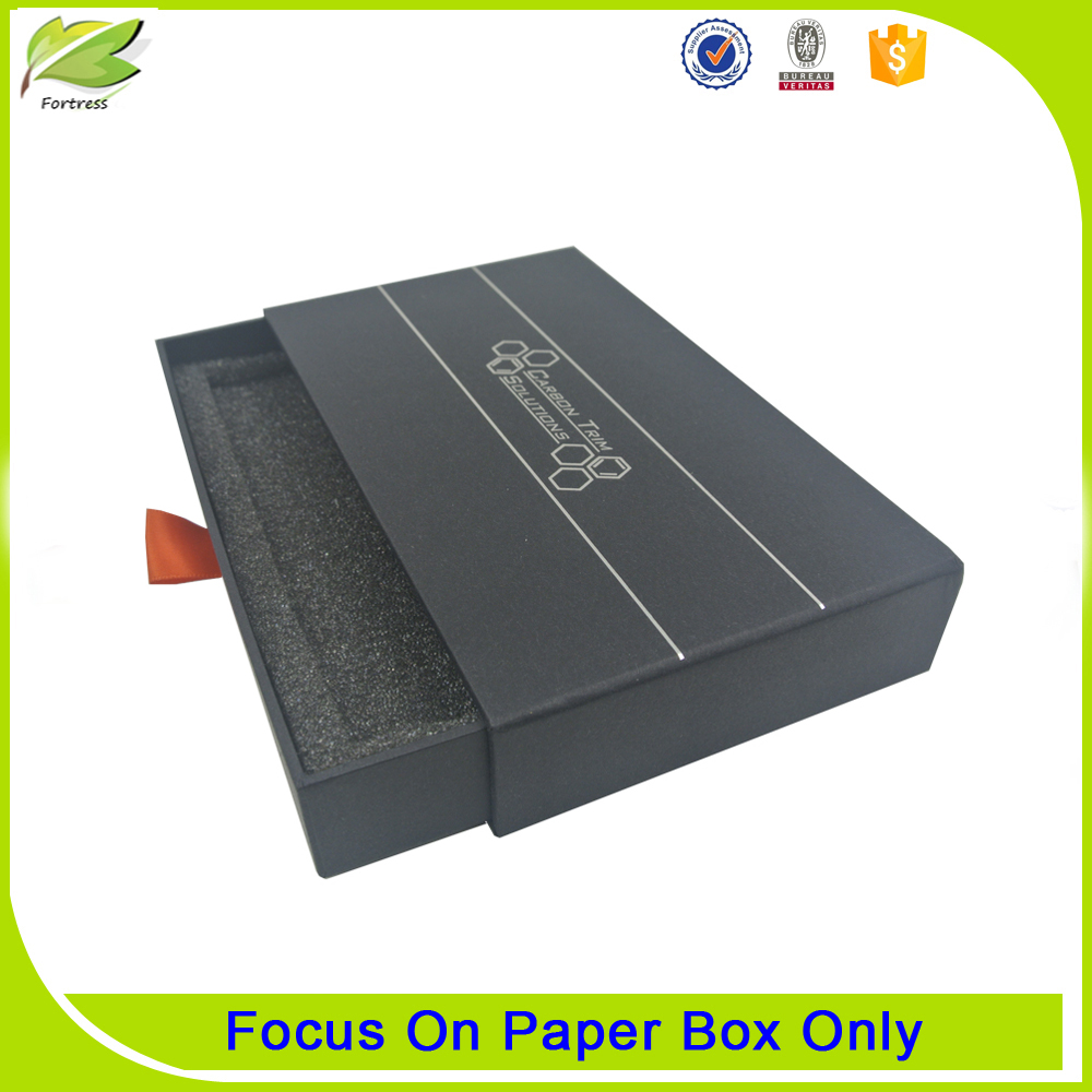 Customized paper drawer packaging box