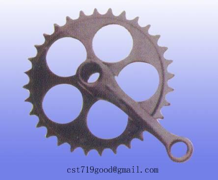 chainwheel  cycle crank