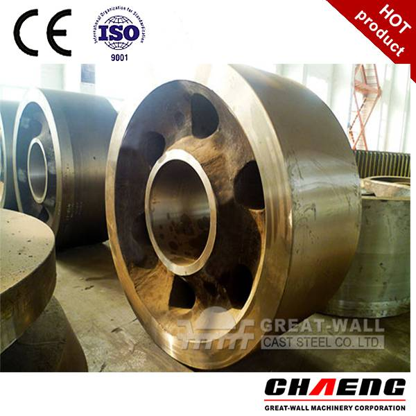 steel casting rotary kiln support roller