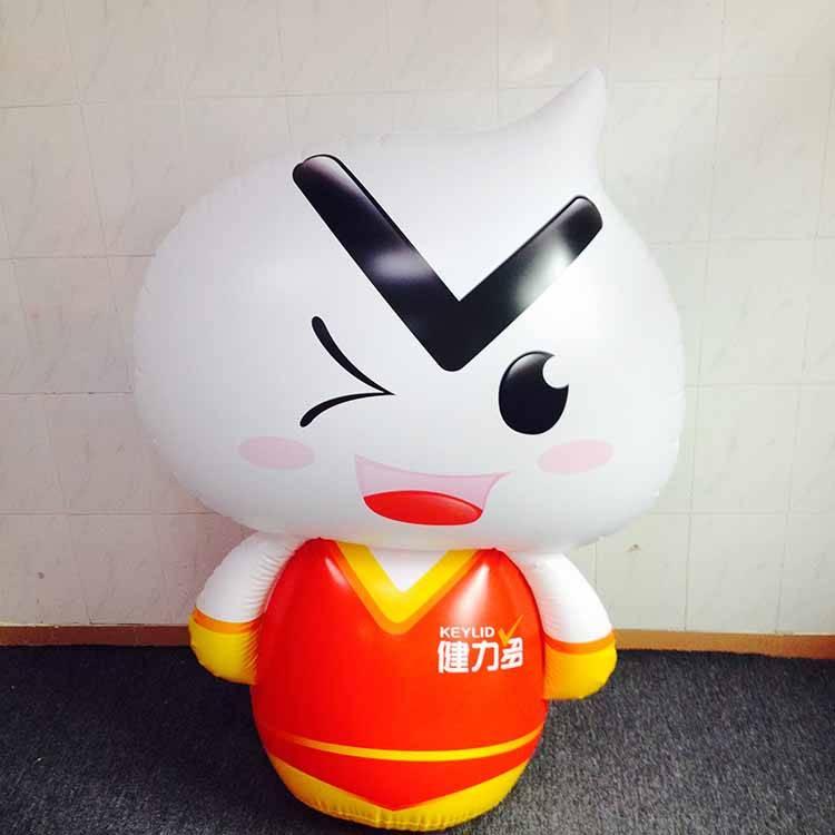 custom plastic inflatable cartoon toys