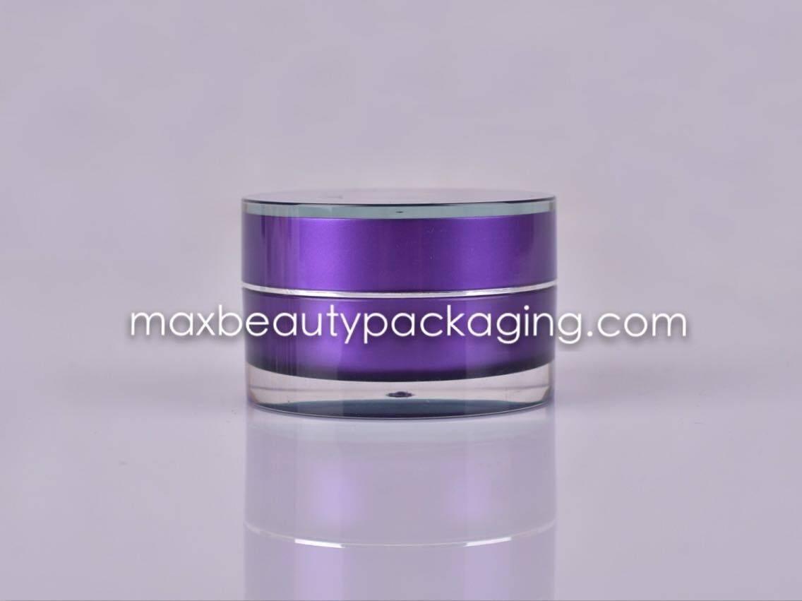 Cream Jar Acrylic cream jar with a wedding ring 15g 30g 50g different size