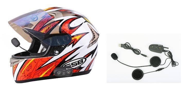 HM-528 Bluetooth helmet headset intercom 200 meters