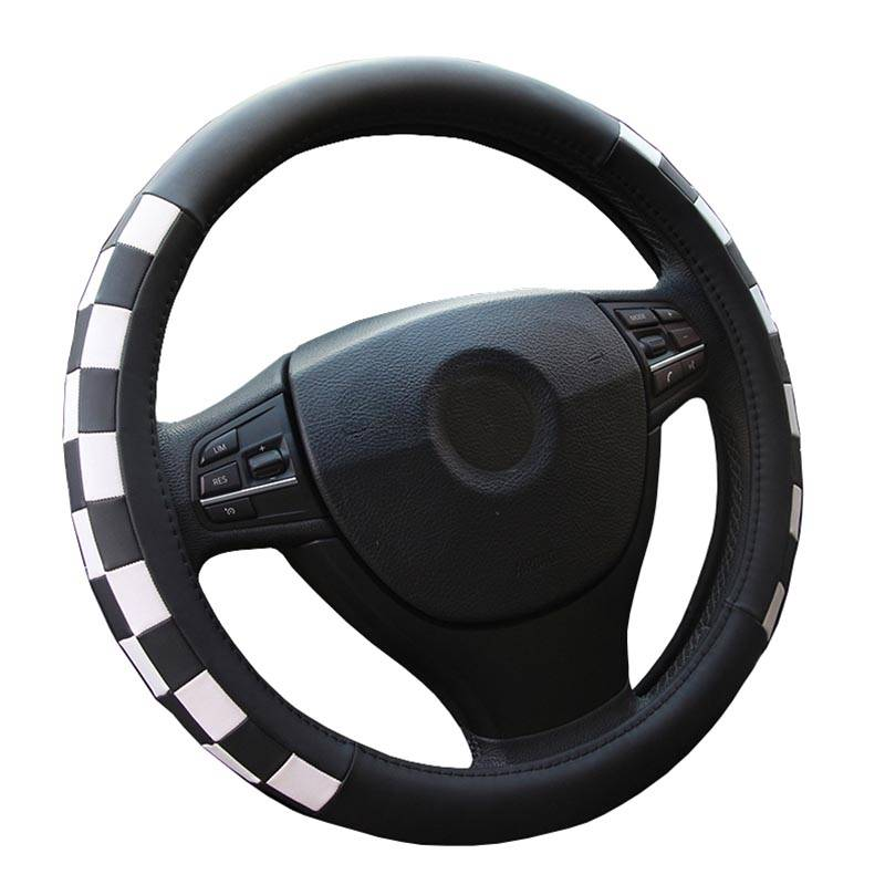 High Quality Leather Steering Wheel Cover