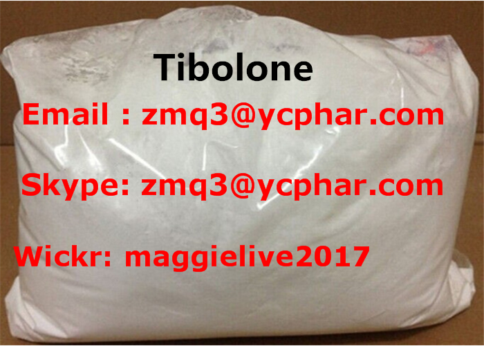 99% Purified Estrogen Tibolone Acetate Powder Bodybuilder 5630-53-5
