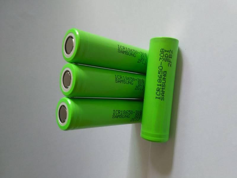 lithium ion battery 18650-3000 3.7v 3000mAH 18650 battery