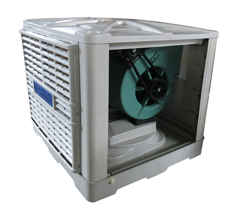 centrifual swamp environmental evaporative big flow air cooler side discharge