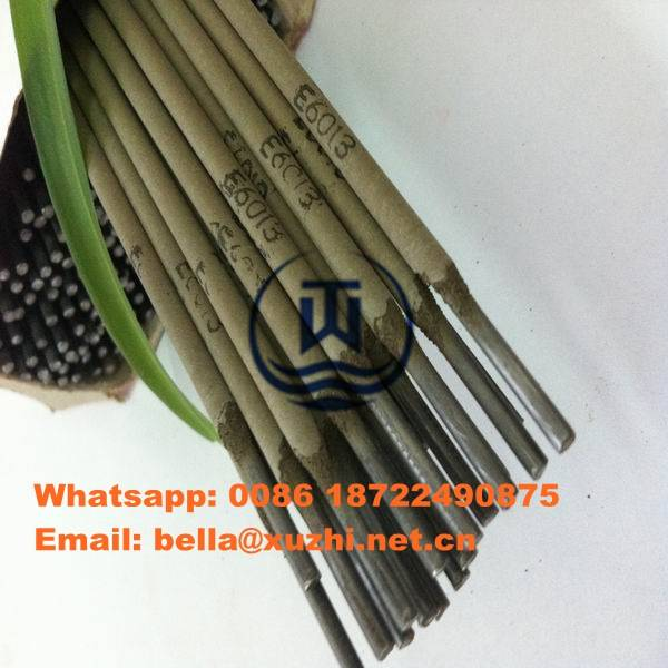 Welding electrodes manufacturing process E6013/E7018/E310/E4043/J422/E7016 welding rod specification