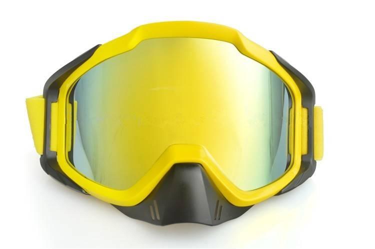 2016 high qulity adult motorcycle helmet goggles