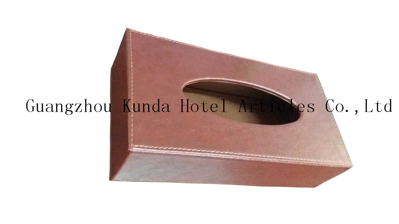 leather home paper box, office desktop tissue box, car paper box, tissue box PJ-006