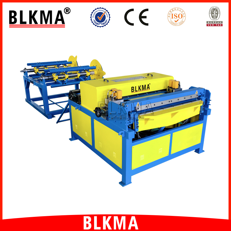 China HVAC rectangular duct forming machine / automatic production line