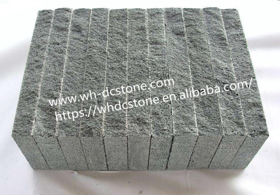 Grey basalt stone