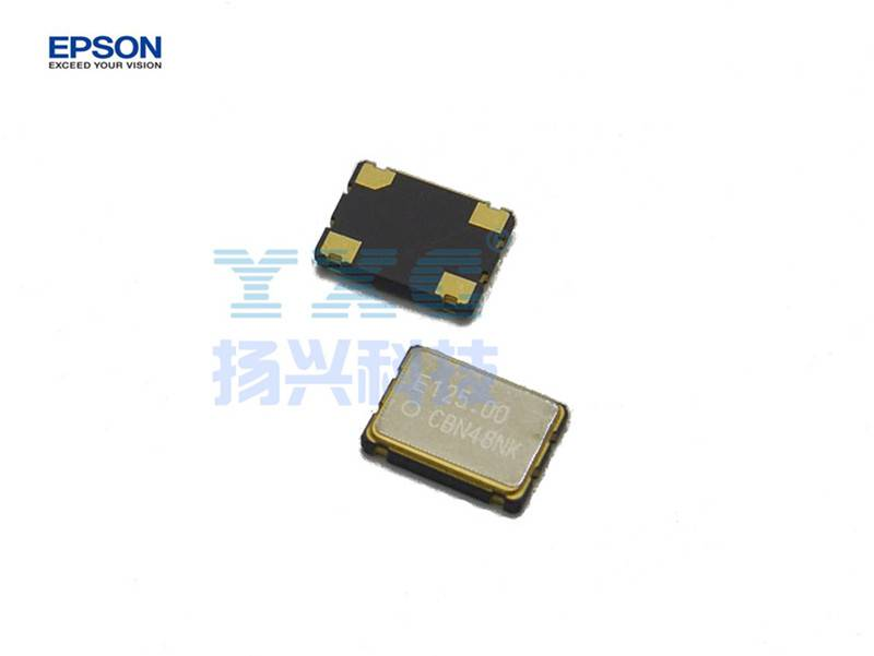 125mhz 7050 SG7050CBN EPSON 50PPM 4P 3.3V 1.6V to 3.6V Quartz Crystal Oscillator 125.000M 125.000mhz