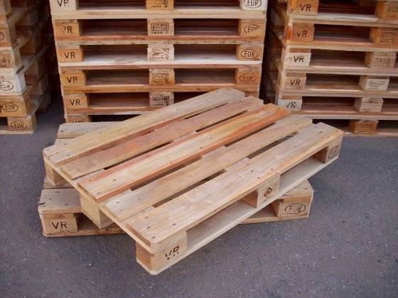 Used and New Euro Epal Wooden Pallets