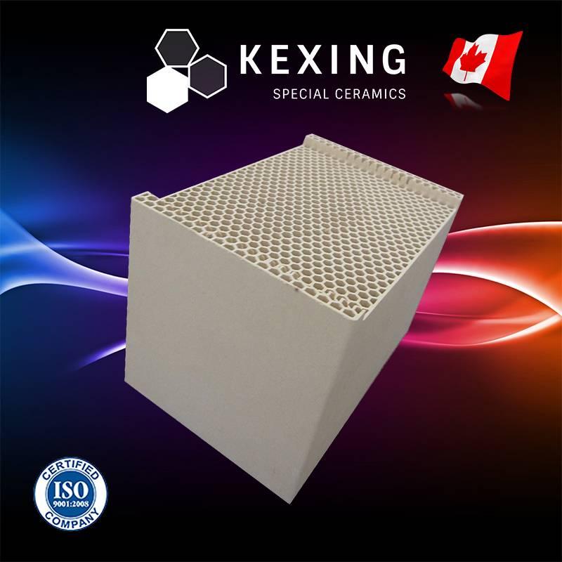 Honeycomb Ceramic Monolith Heat Sink Media