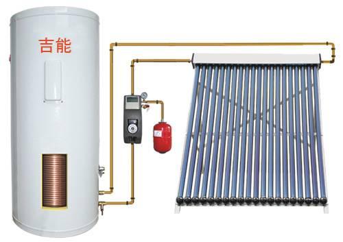 villa split pressurized solar water heater