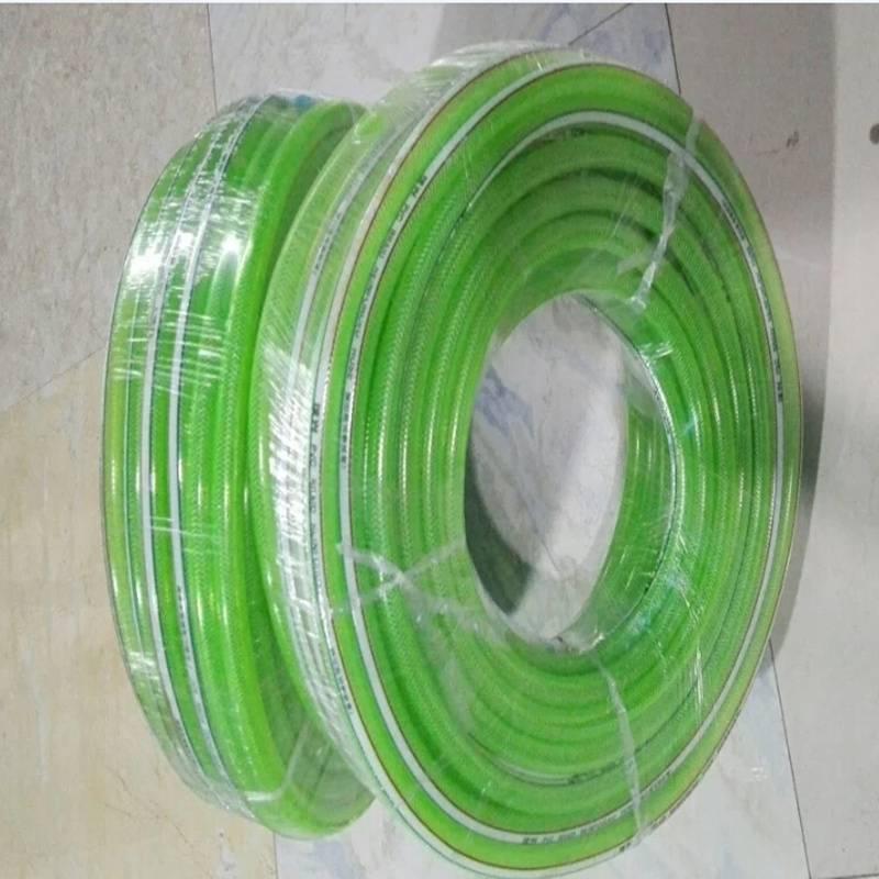 Non -Torsion fiber braided reinforced pvc garden hose