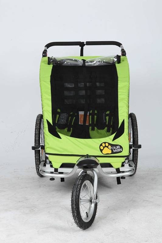 Baby Bicycle Trailer & Jogger 2 in 1