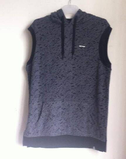 black vest hoodies