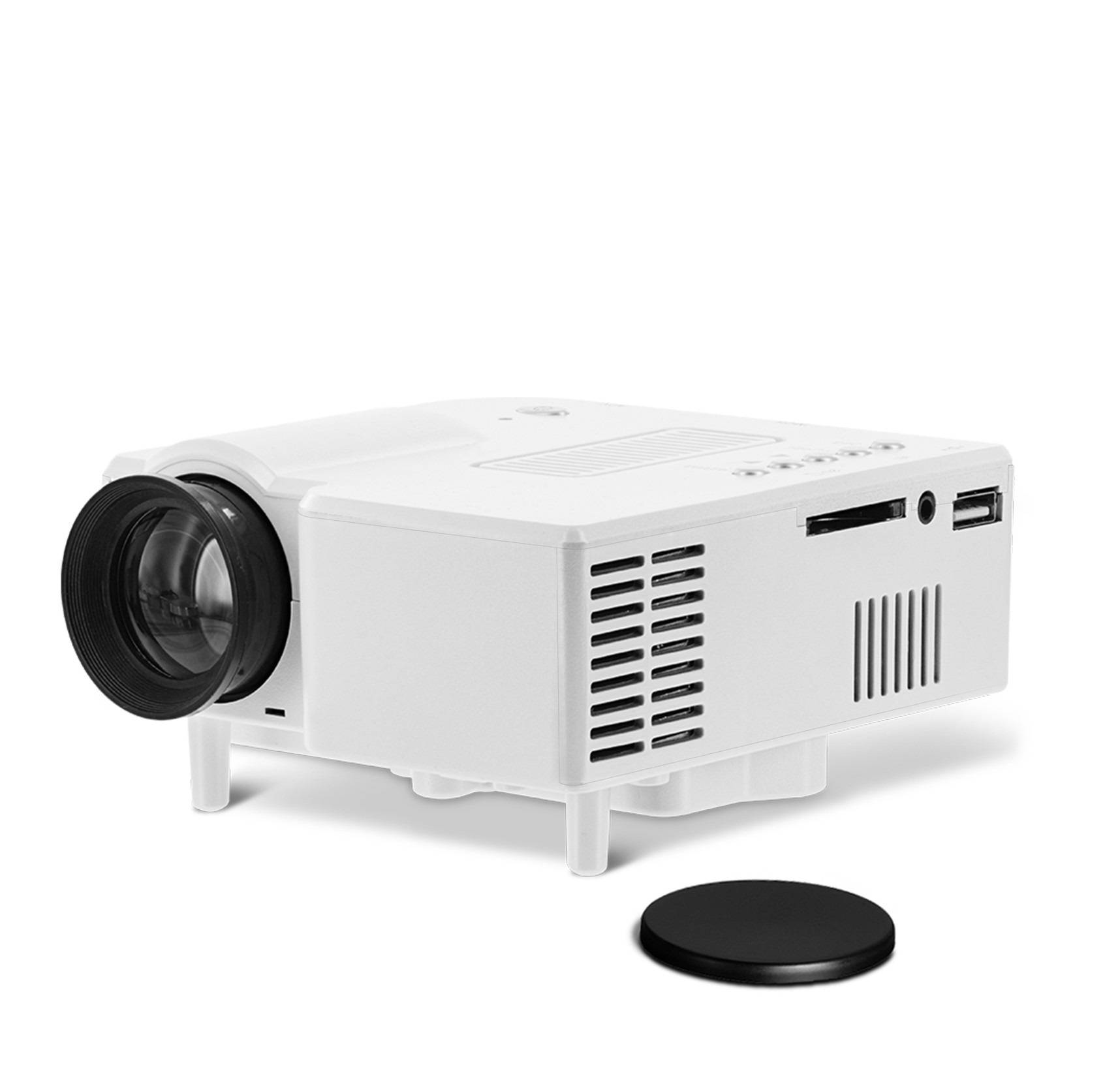 simplebeamer GP5S projector,Portable Children's toys mini UC28 Micro projector exceed game projector