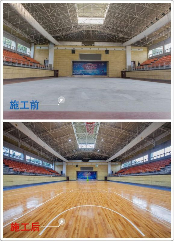 Factory quality PVC vinyl sports flooring