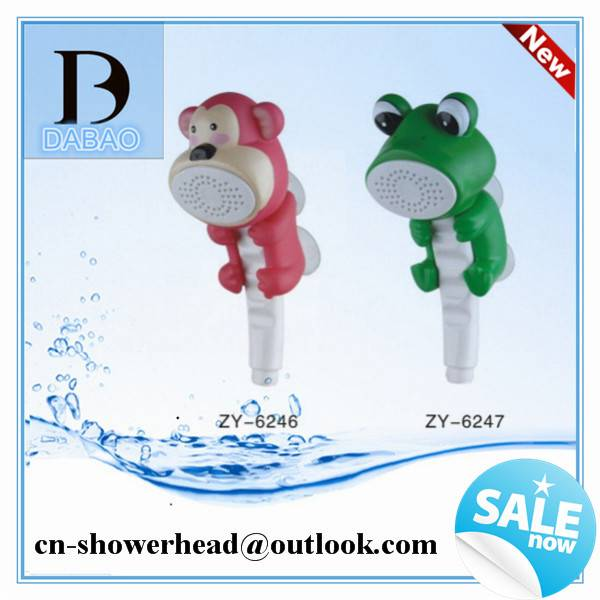 Baby Shower Bathroom, Children Shower Head and Colorful Animal Shower Head for for Kids