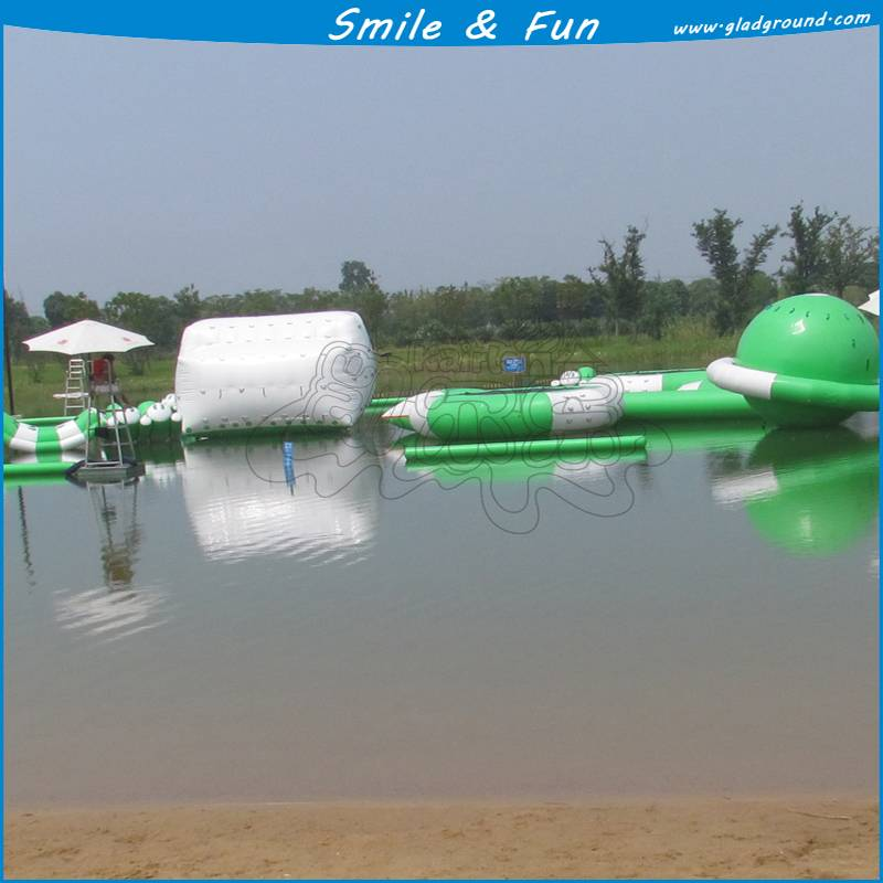 inflatable water amusement set for water park