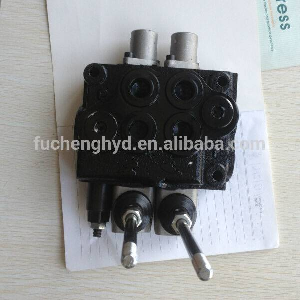 hydraulic monoblock directional control valve