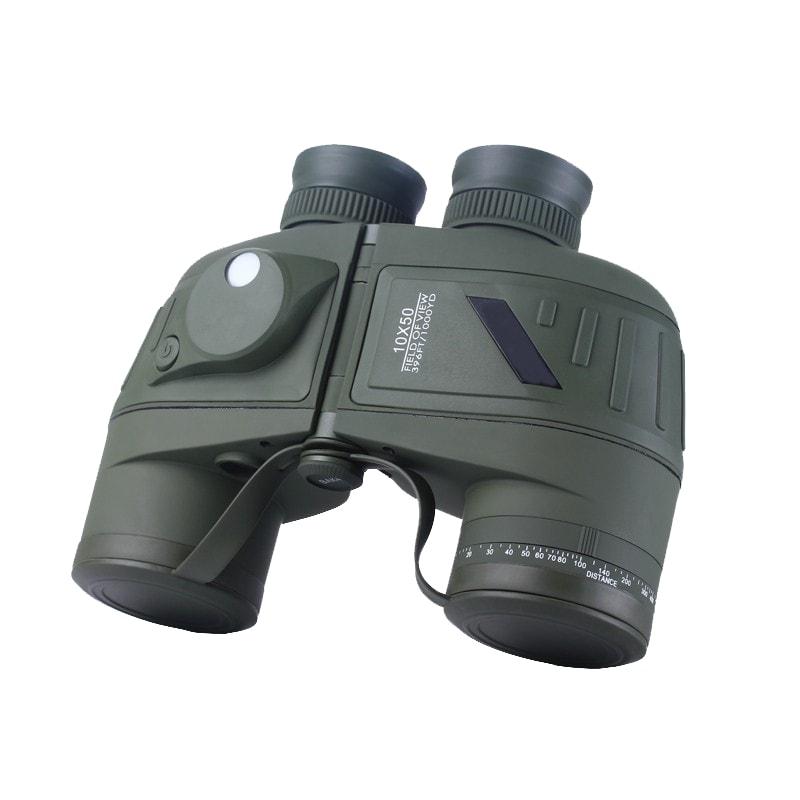 10×50 Rangefinder Binocular with Compass